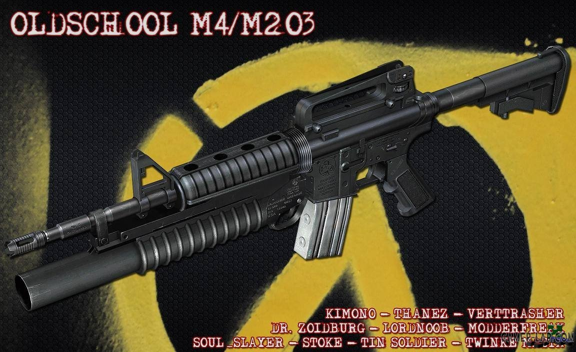 Oldschool M4 with M203