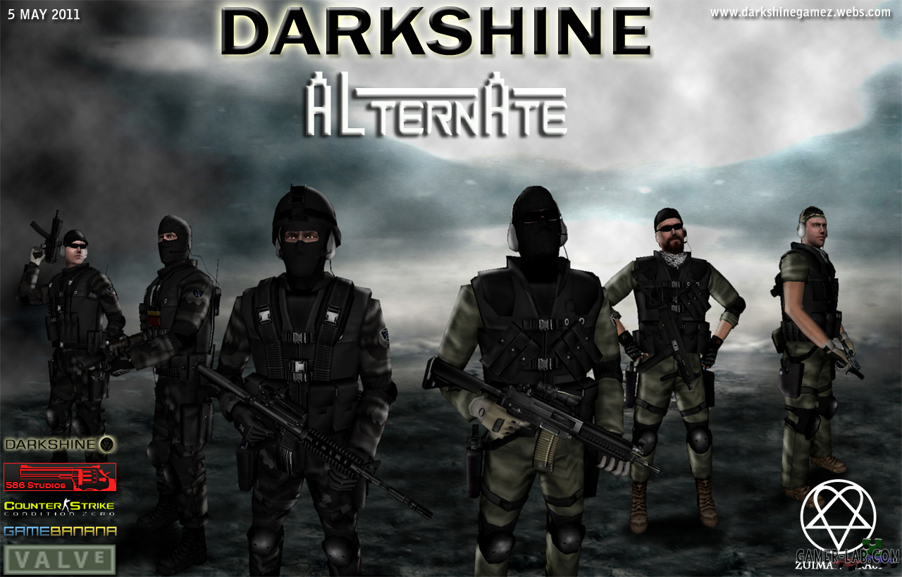 DarkSHine Alternate Pack CS: CZ