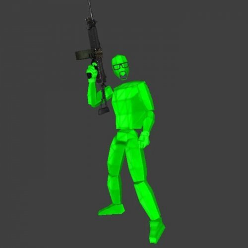 Green Gordon Freeman