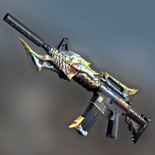 M4A1 Black Dragon is fierce