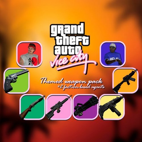 Grand Theft Auto: Vice City themed weapon pack