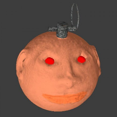 Demon Head Grenade