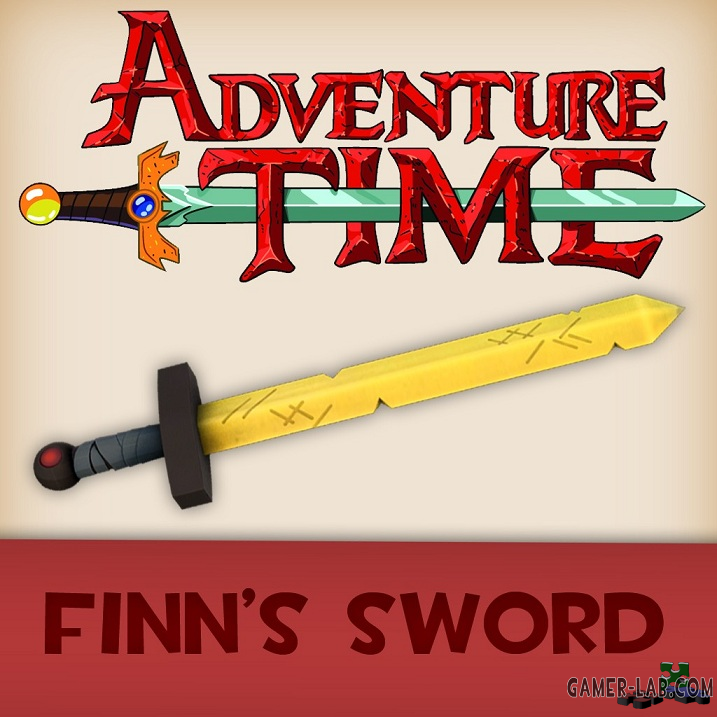 Adventure Time - Finn's Sword