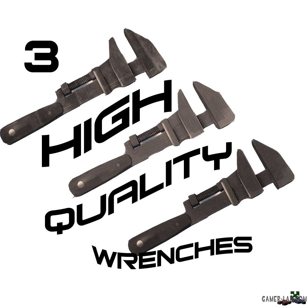 3 High Quality Wrenches!