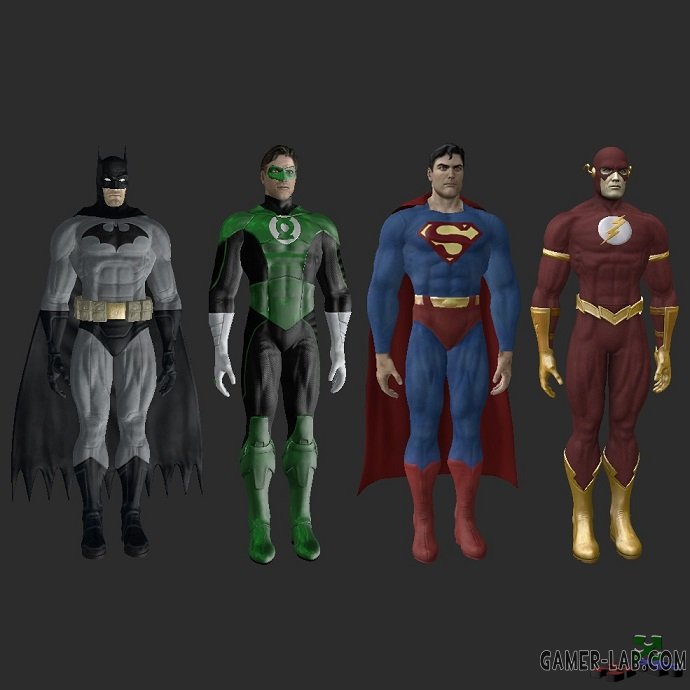 DC Superheroes Pack