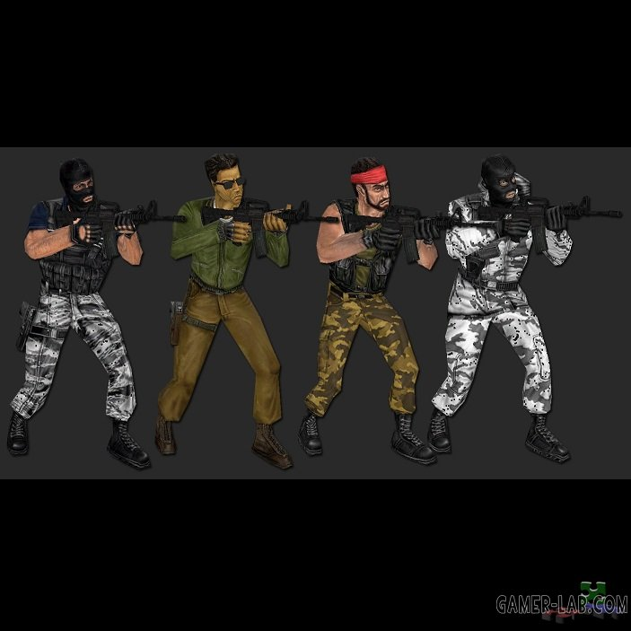 CS 1.6 Terrorist Faction