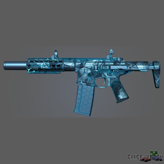 M4A1 Honey Badger Frozen