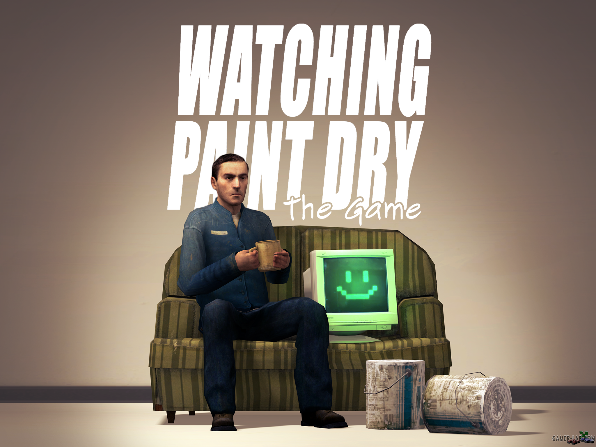 Watching Paint Dry: The Game