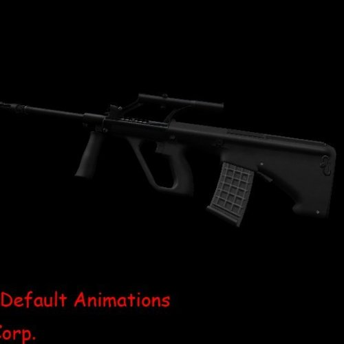 AUG A1 On Default Animations