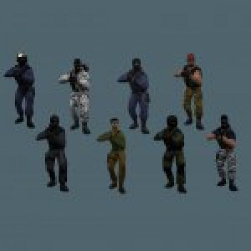 Original CS Player Models