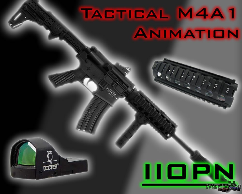 IIopn_s_Tactical_M4A1_Animation