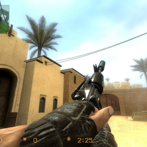 Shortez_Default_m4a1_on_phong_textures_James_anims