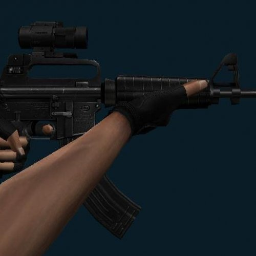 M4A1 With AK Mag