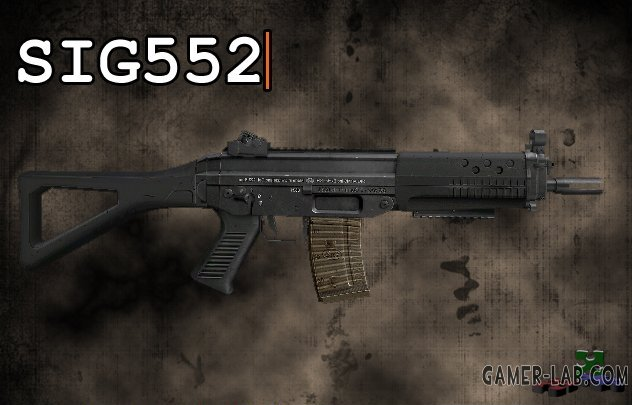 The SIG552 2 anims REWORKED
