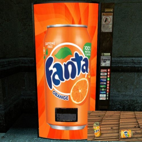 Fanta Vending Machine