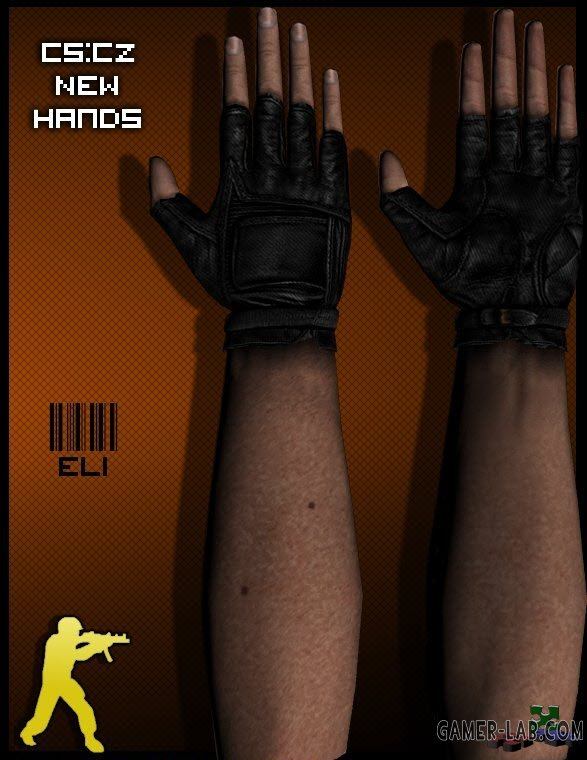 New hands texrues