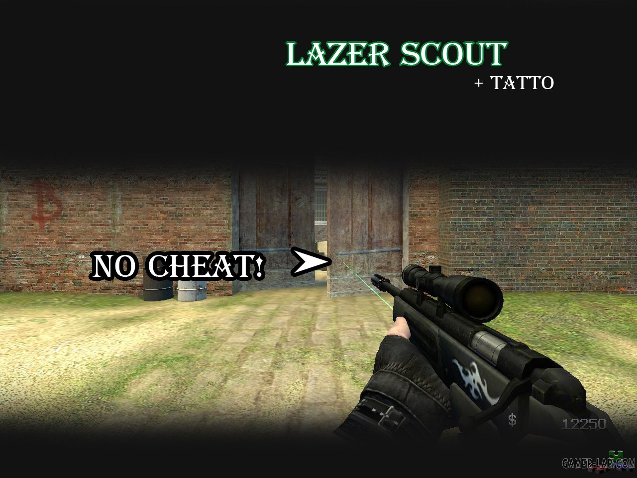 Lazer Scout + Tatto