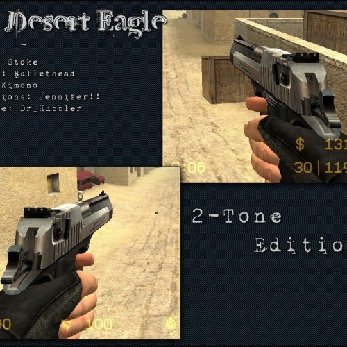 IMI Desert Eagle For Dual Elites