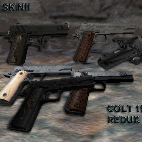 Colt 1911 with 6 Anims(Updated)