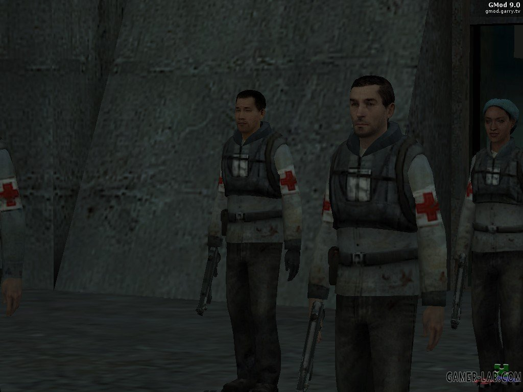HL2 Medics To Refuges!!!