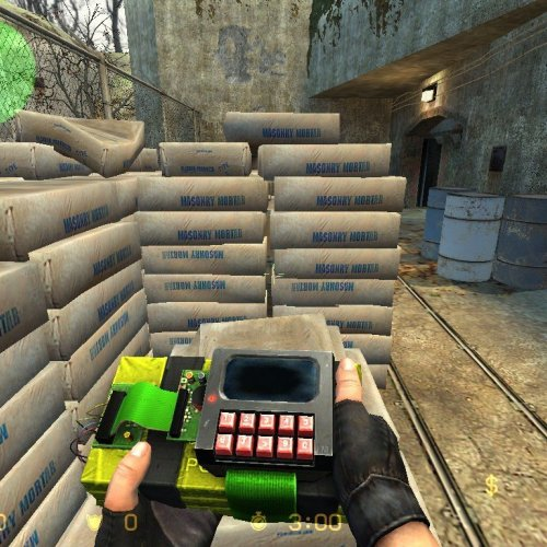 Black, Green And Red C4