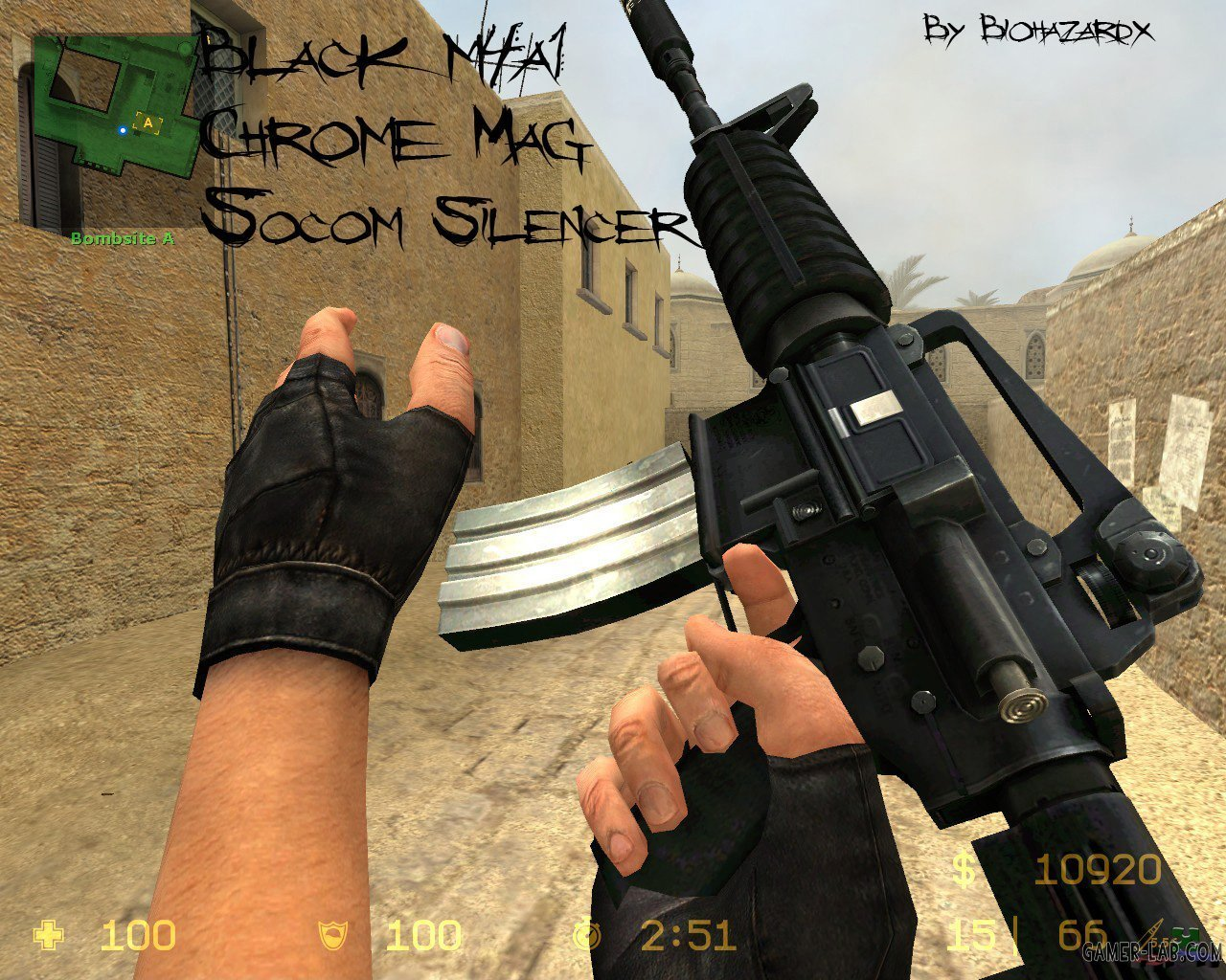 Black_M4a1_W_Chrome_Mag_And_Socom_Silencer