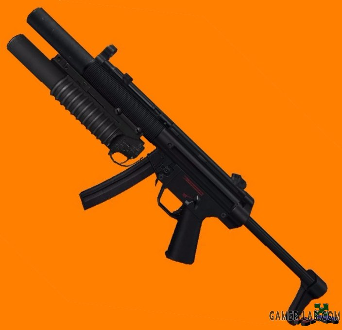 HK MP5SD with M203
