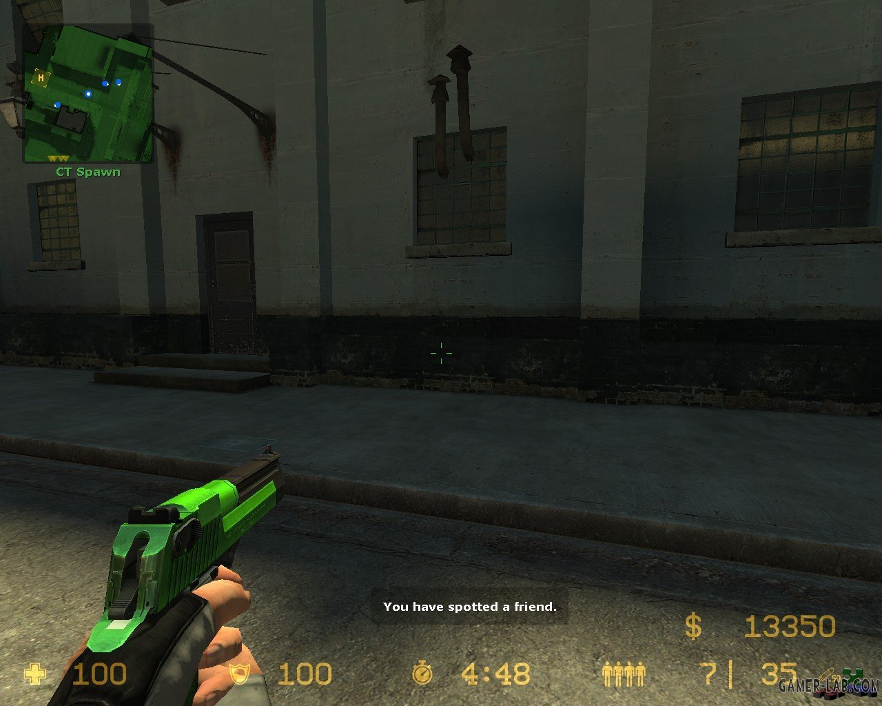 Green And Black Deagle (request)