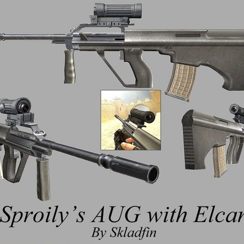 Sproily AUG With Elcan Scope