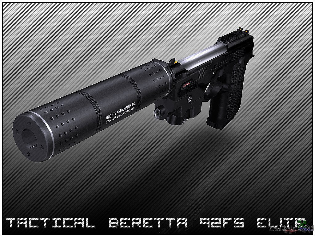 Tactical Beretta 92 FS Elite