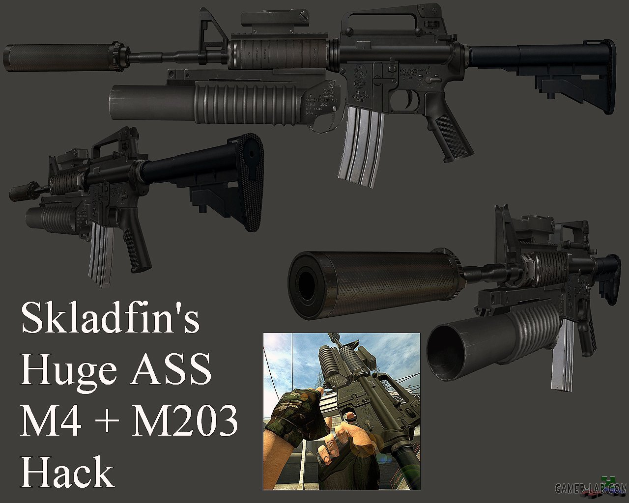 Skladfin_s_Big_Ass_M4_With_M203