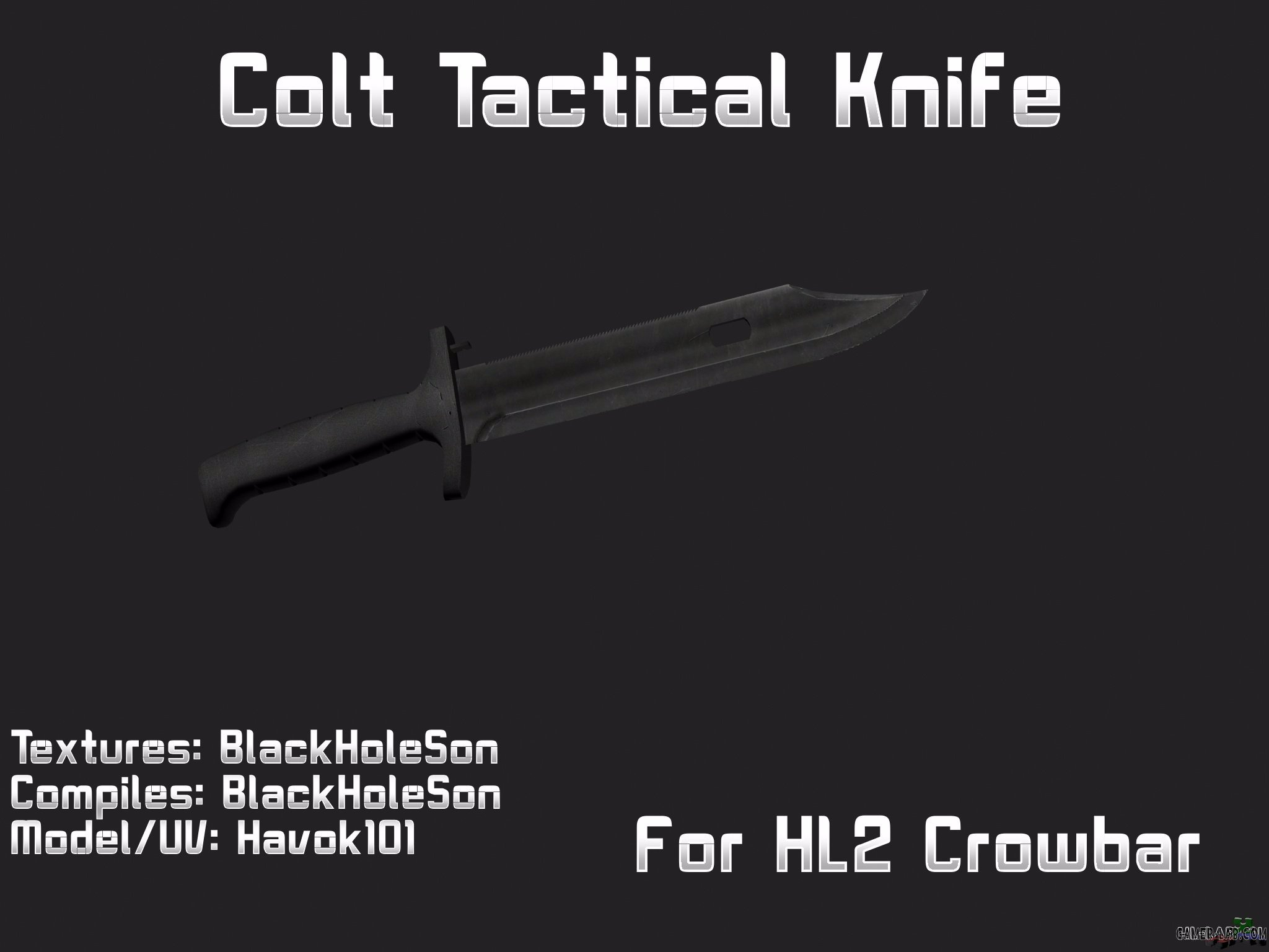Colt Tactical for Crowbar