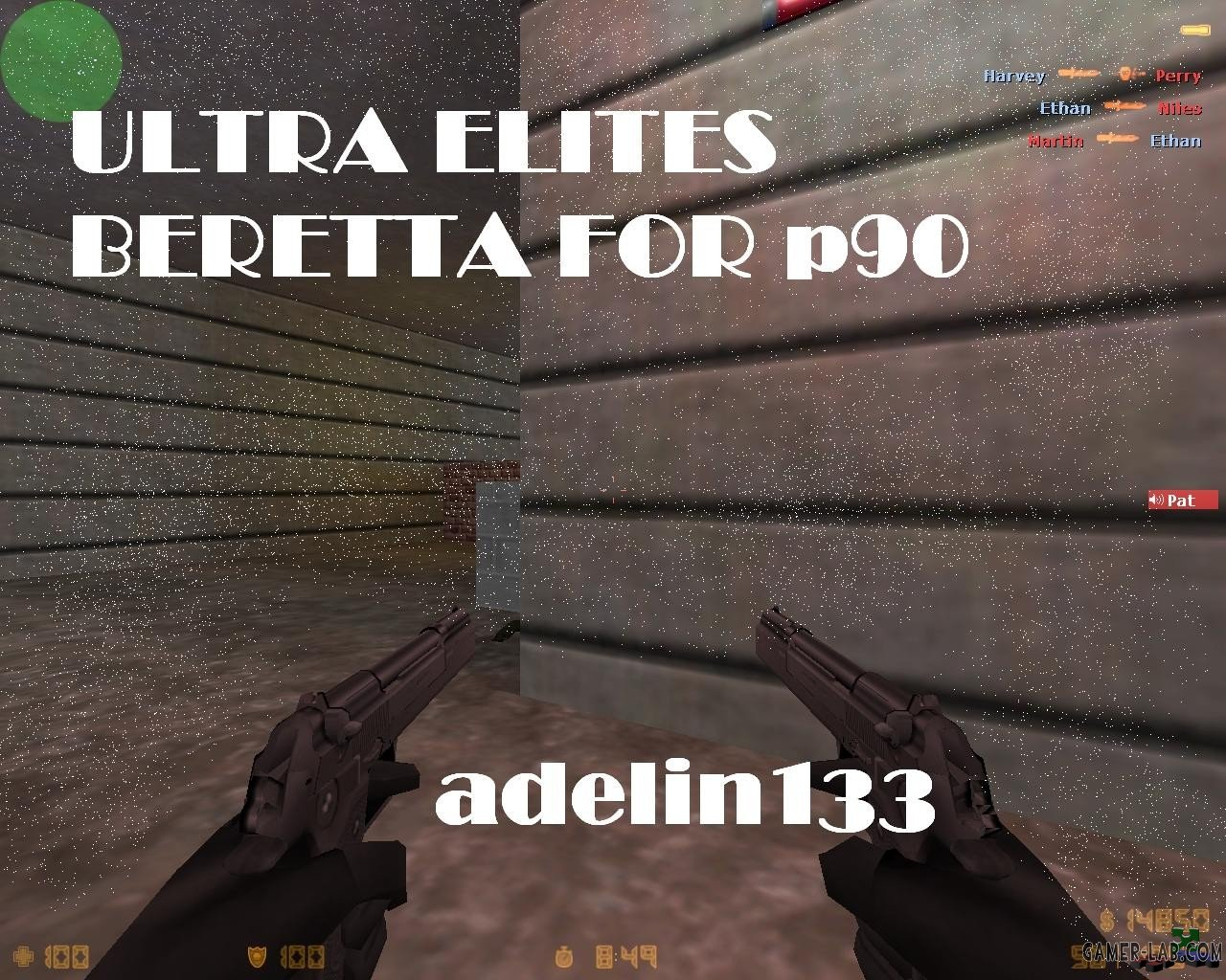 Ultra beretta pistols for p90