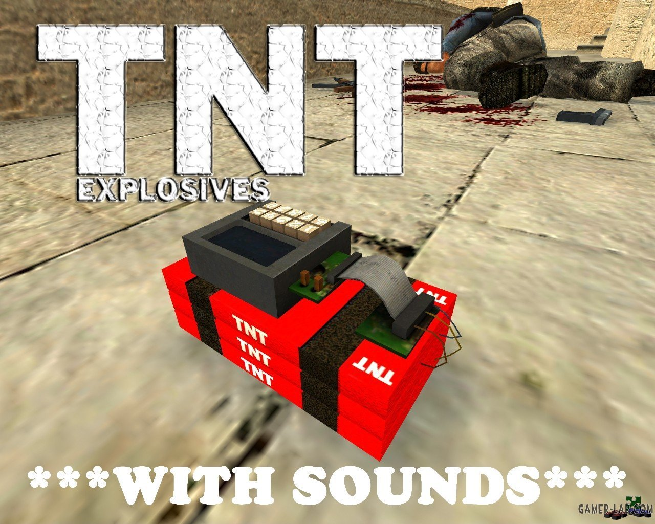 TNT Explosives + Sounds