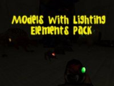 Models With Lighting Elements Pack