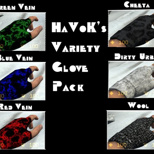 HaVoK_s_Variety_Glove_Pack