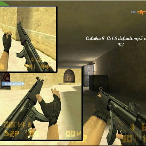 Calabash Cs1.6 Default Mp5 Reskin (v2)