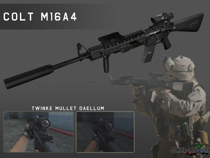 Iraq M16A4 For AUG