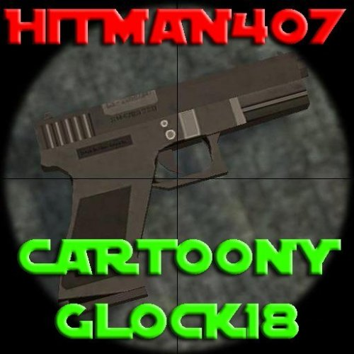 Hitman407 - Cartoony Glock18
