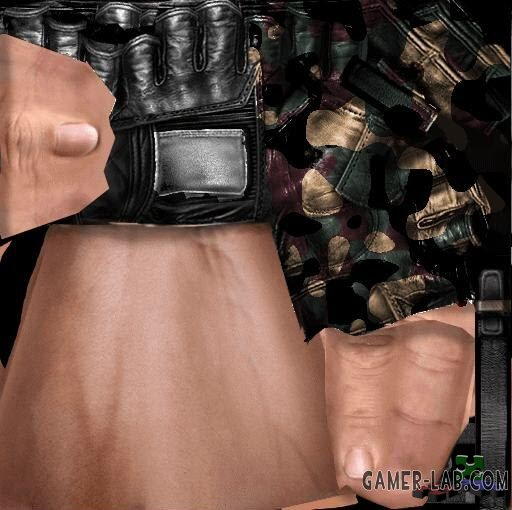 dooms camo gloves