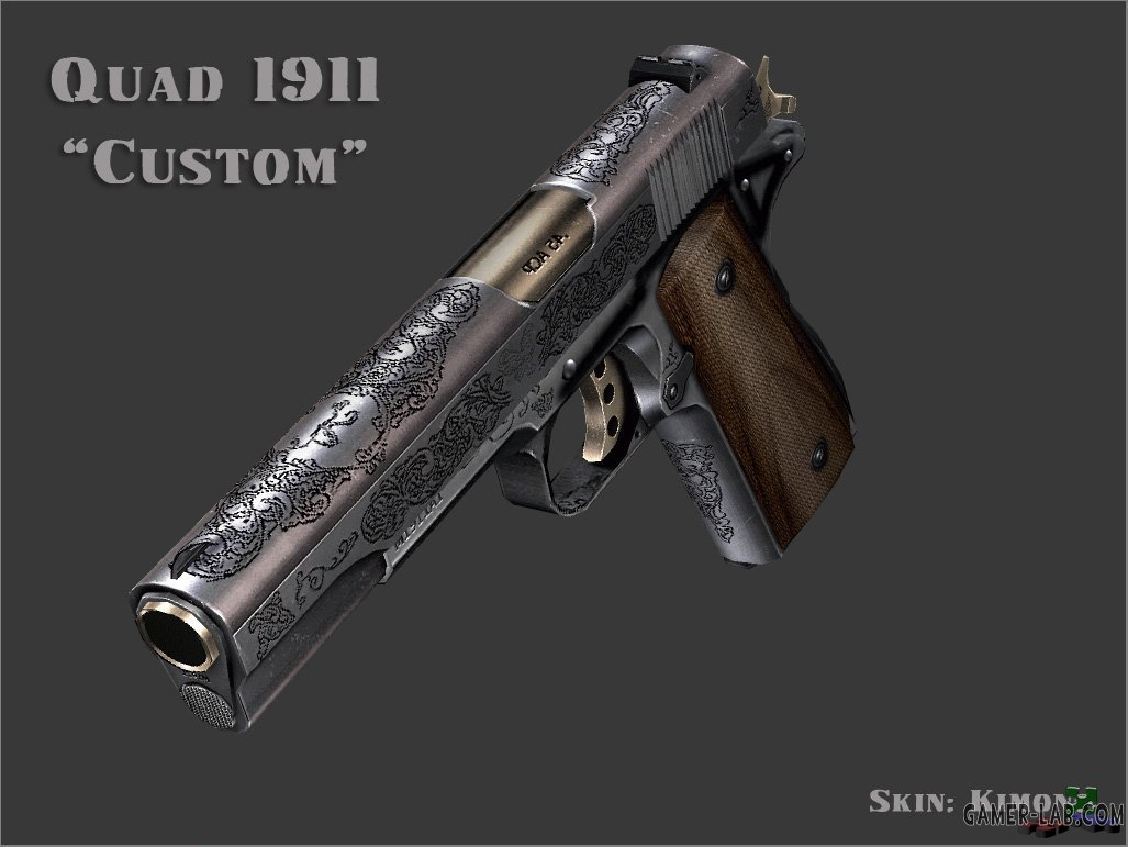 quads 1911 custom engraved