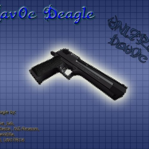 Two-tone UV deagle