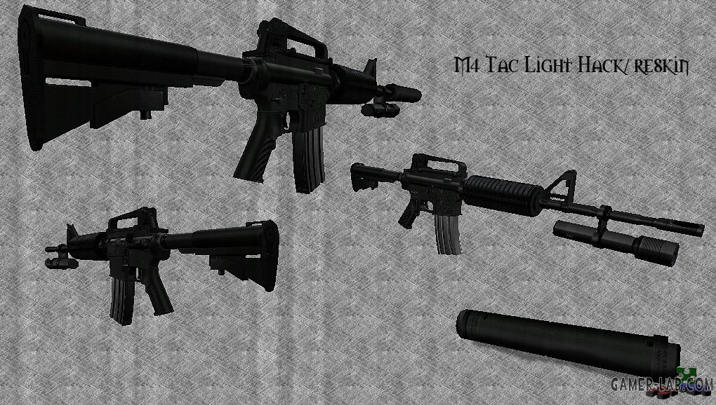 M4 Tac Light Hack