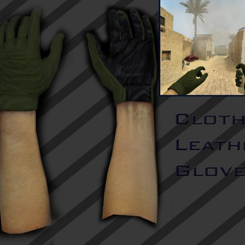 Cloth_Leather_Gloves