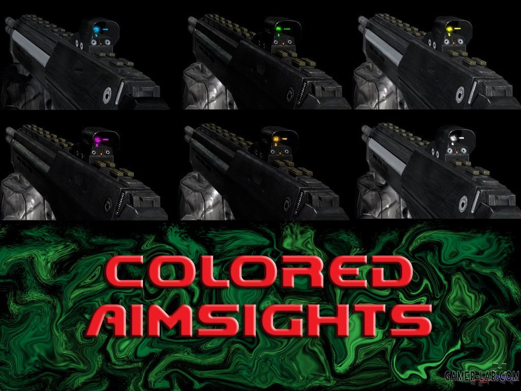 Colored Aimsights Pack