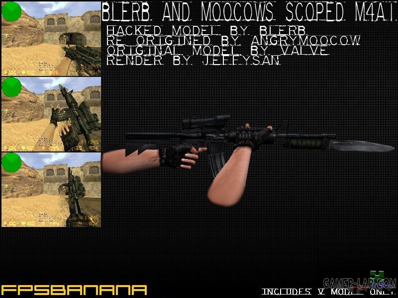 Scoped M4A1 Carbine