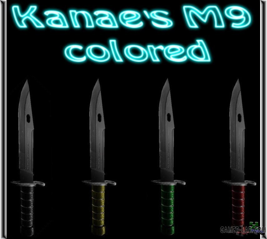 Kanae s M9 colored
