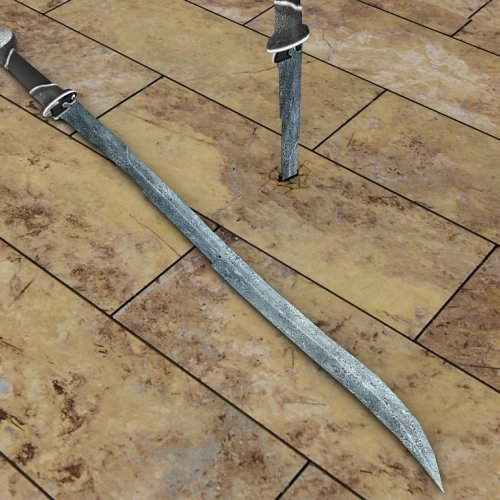 One_Handed_Damascus_Sword_with_Custom_Animations