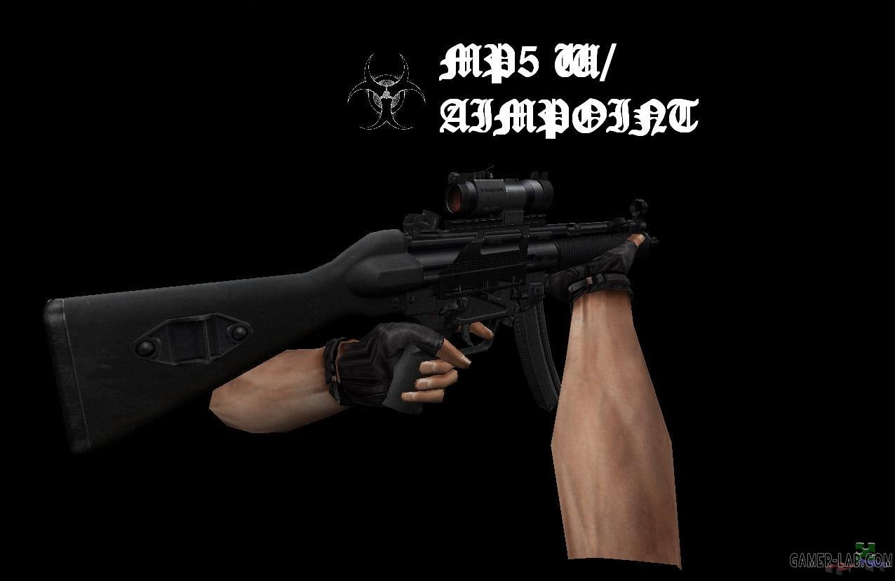 MP5 w Aimpoint