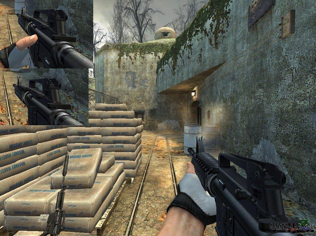M.H.D_M4A1_Version_3_+_Hac0vs_Animations
